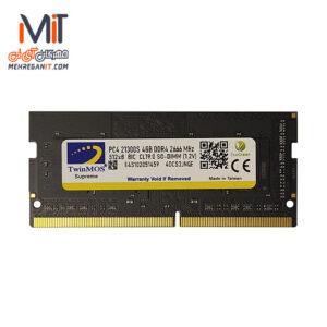 رم نوت بوکی 4GB DDR4 TwinMos