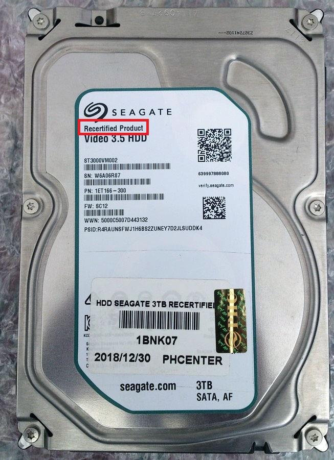 انواع گارانتی هارد دیسک