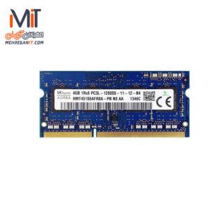 رم نوتبوکی 4GB DDR3 Hynix 1600