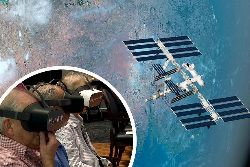 واقعیت مجازی و حضور سالخوردگان در فضا