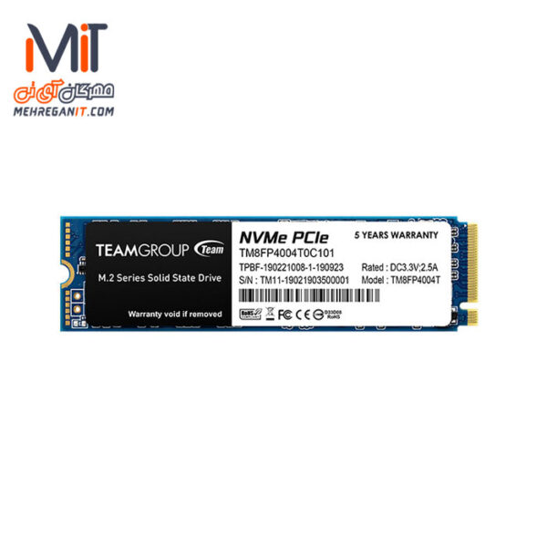 اس اس دی اینترنال TEAMGROUP مدل MP34 ظرفیت 4 ترابایت