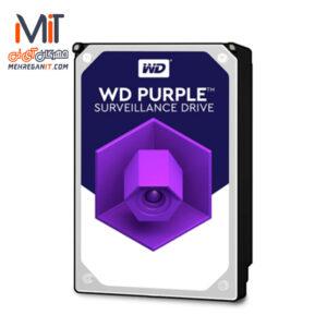 هارد دیسک وسترن دیجیتال سری Purple-PURZ ظرفیت 10TB