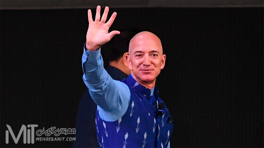 جف بزوس از سمت خود به عنوان مدیر عامل آمازون استعفا داد