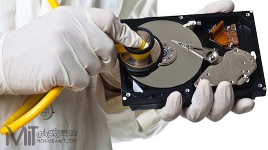 دلایل خراب شدن هارد دیسک