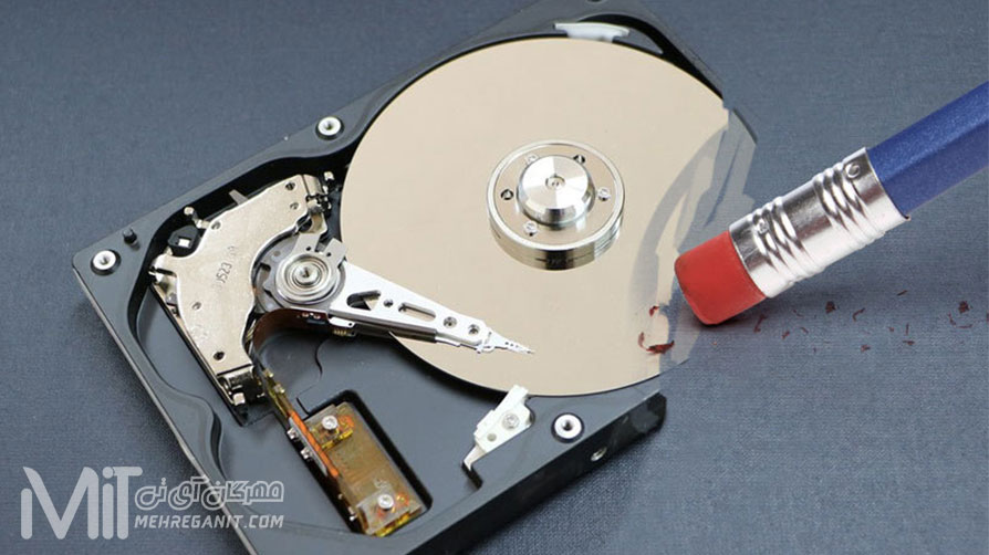 چگونه هارد دیسک خود را پاک کنید