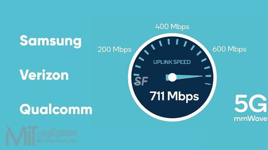 ورایزون ، سامسونگ و کوالکام همچنان به نوآوری در زمینه فناوری 5G ادامه میدهند
